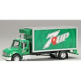 diecast car: van box truck