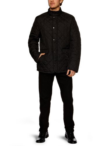 French Connection Quilted Men's Jacket Black Large