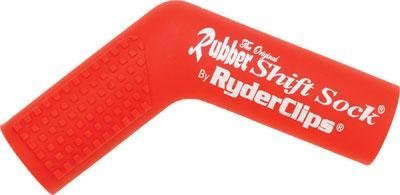 Ryder Clips Rubber Shift Sock - Red RSS-RED