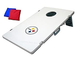 Pittsburgh Steelers Plastic Cornhole Bean Bag Toss Yard Game by Unknown