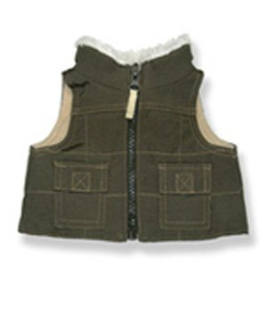 "Brown Vest Clothing Fits 8""-10"" Most Webkinz, Shining Star and 8""-10"" Make Your Own Stuffed Animals and Build-a-bear - 1"