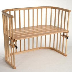 Cheap aBaby Maxi Cot, Natural Varnished