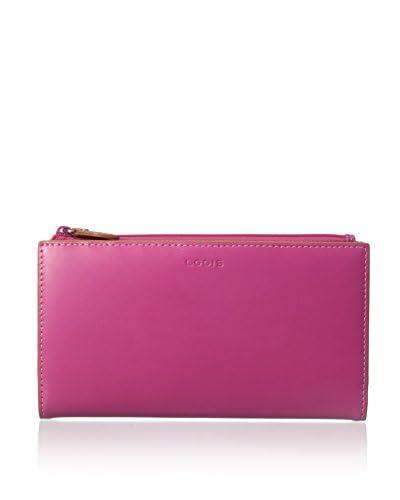 Lodis Women's Audrey Tess Wallet, Hot Pink/Toffee