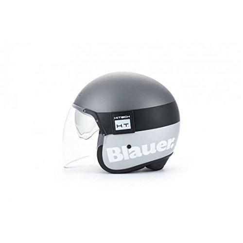 BLCJ119L - Casque Blauer POD Titane/Gris Mat L