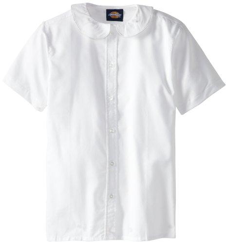Dickies big girls 39 short sleeve peter pan collar blouse for Dickies big tex shirt