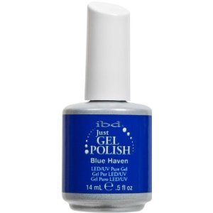 IBD Just Gel Nail Polish, Blue Haven, 0.5 Fluid Ounce*BOTH GEL POLISH AND LAQUER* for easy touch ups and perfect color matches.*LISTING FOR 2 POLISHES!!!*