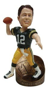 Green Bay Packers Super Bowl XLV Champions Aaron Rodgers MVP Bobblehead