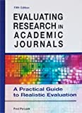 img - for Evaluating Research in Academic Journals - A Practical Guide to Realistic Evaluation (5th Fifth Edition) - By Fred Pyrczak book / textbook / text book