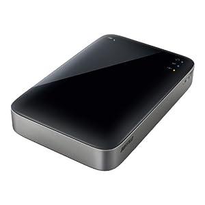 BUFFALO ミニステーション Wi-Fi&USB3.0用 ポータブルHDD 500GB HDW-P500U3