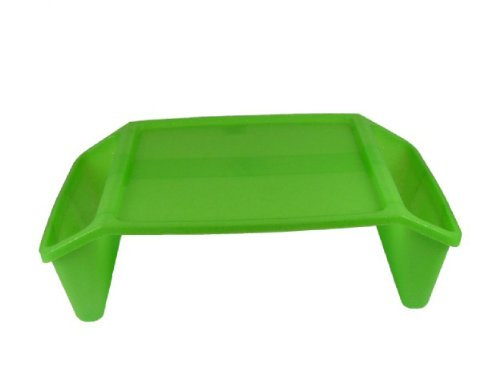 Romanoff Products Inc Romanoff Lap Tray, Lime Sparkle