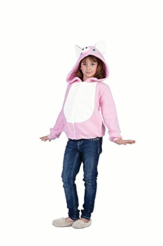 [RG Costumes 'Funsies' Penelope Pig Hoodie, Child Small/Size 4-6] (Pig Costume Amazon)