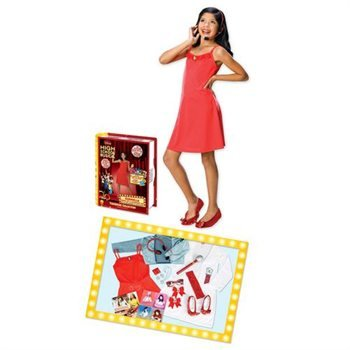 Gabriella Dress-up and Accessory Set Child Costume Size Standard