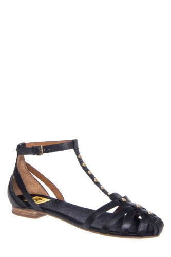 DV by Dolce Vita Madie Low Heel Studded Gladiator Flat