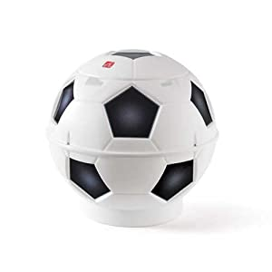 Step2 Soccer Ball Toy Chest, White/Black