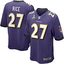Ray Rice Baltimore Ravens Home Jersey: Size - Large by ON-FIELD