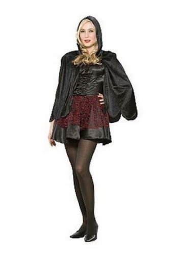 Sexy Midnight Witch Dress Up Halloween Costume - Size Adult Small