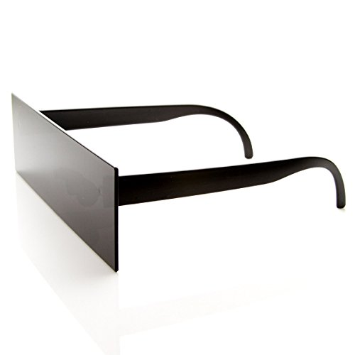 zeroUV - Internet Censorship One-Piece Black Bar Novelty Sunglasses (Black)