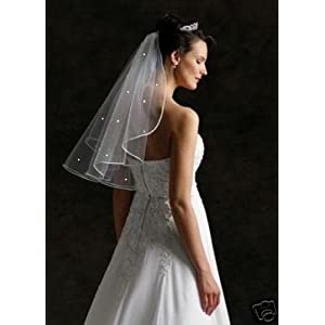 cheap bridal veils