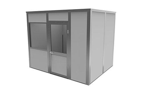 Porta-King VK3-810AA4C Modular Office, VCDW, 10' Length x 8' Width x 8'2