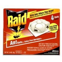 Raid Ant Bait, Red Box-4 Ct.