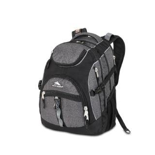 High Sierra 2743-Cubic Inches Access Daypack (Black Armor, Black) front-455984