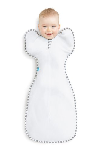 Love to dream Baby Swaddle White Medium 6-8.5kgs - 1