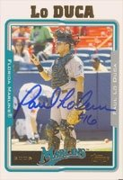 Paul Lo Duca Florida Marlins 2005 Topps Autographed Hand Signed Trading Card - Nice... by Hall+of+Fame+Memorabilia