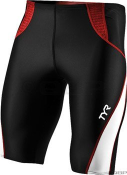 Tyr Competitor Jammer Shorts - Men'S Black/Red, L - Men'S
