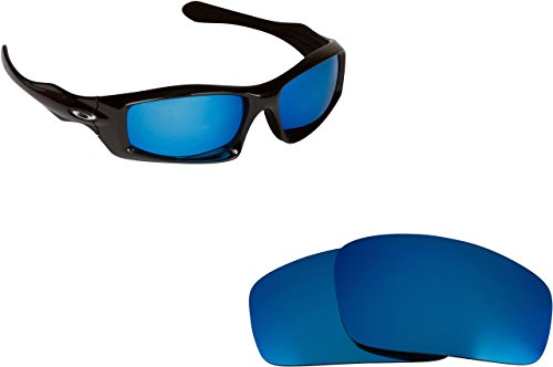 New SEEK OPTICS Replacement Lenses for Oakley MONSTER PUP - Ice Blue Mirror