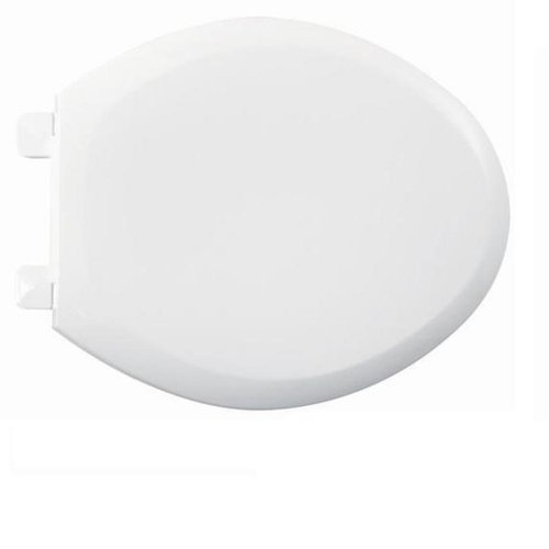 American Standard 5321.110.020 Everclean Elongated Toilet Seat With Slow Close Snap-Off Hinges, White front-568183