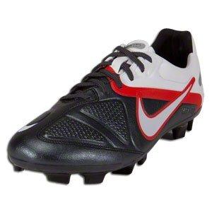 Nike Mens Soccer Cleats CTR360 MSTRI 2 ELITE FG Black /White/ Challenge Red SZ 6