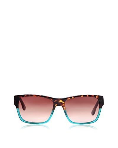 Diesel Men's DL0012 89F Sunglasses, Havana/Turquoise