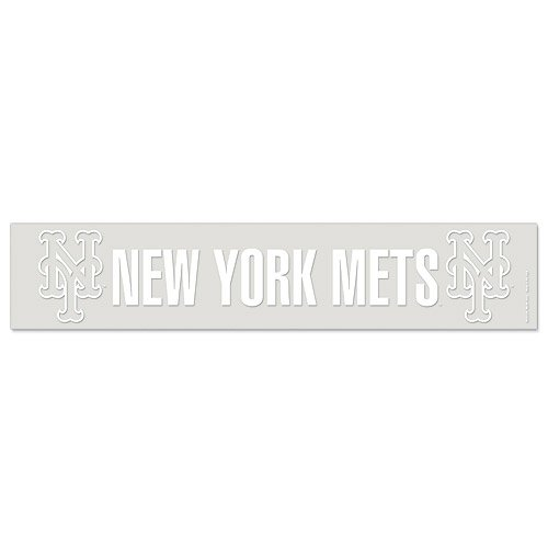 New York Mets Official MLB 5 inch x 25 inch Car Window Cling Decal by Wincraft (Ny Mets Window Decal compare prices)