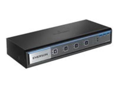 Emerson Network Power Avocent 4-Port Dual-Head DVI-I Standard Desktop KVM Switch (SV340-001)