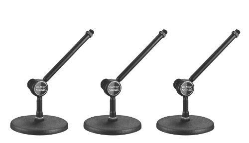 On Stage Ds300B Posi-Lok Mini Boom Desktop Stand - 3 Pack