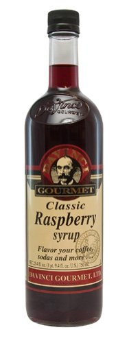 Davinci Gourmet Classic Flavored Syrups Raspberry 750 Ml