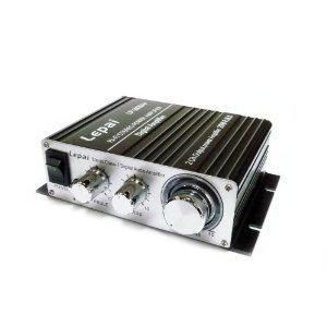 Lepai デジタルアンプ LP-2020A+ Tripath TA2020-020 ブラック+12V5Aアダプター付属