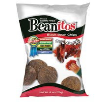Beanitos Black Bean Chipotle BBQ Chips, 6-Ounce (Pack of 9)