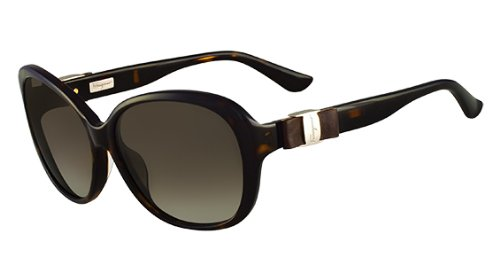 Salvatore Ferragamo SF658SL Sunglasses w/ Leather
