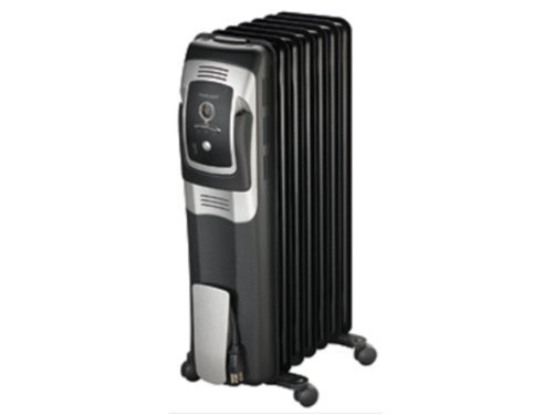 B000FVAK8G Honeywell 7 Fin Oil Filled Radiator Heater with Digital Controls, HZ-709
