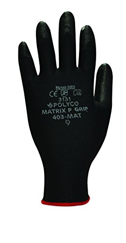 polyco-p-grip-medium-close-fitting-glove-with-hard-wearing-polyurathane-coating-black