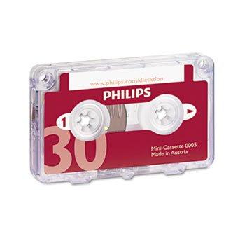 Audio & Dictation Mini Cassette, 30 Minutes (15