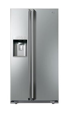 LG GWL227HSYA American Style Fridge Freezer Brushed Steel