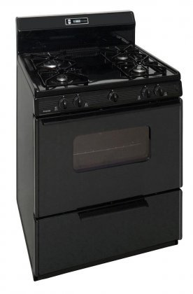 Premier-SMK220BP-30-ADA-Compliant-Freestanding-Gas-Range-with-391-cu-ft-Oven-4-Variable-Sealed-Burners-8-Porcelain-Backguard-with-Electronic-Clock-and-Roll-out-Drop-Door-Broiler-in