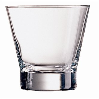 Arcoroc Modern glass tumblers 320ml (11.25oz) set of 6.