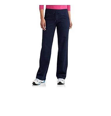 "Women's Regular Dri-More Core Relaxed Pants 32"" inseam Black Yoga, Activewear"