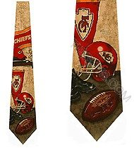 KANSAS CITY CHIEFS Men's Neck Ties