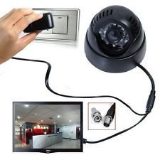 FINICKY WORLD CCTV DOME CAMERA VIDEO & AUDIO RECORDER WITH IR AND INBUILT DVR & TV Out + 2Years Warranty