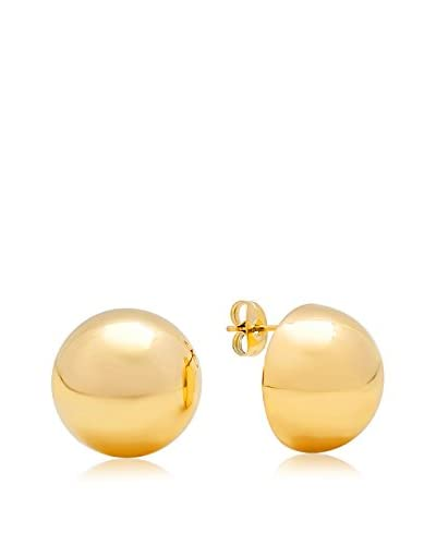Piatella 18K Gold-Plated Stainless Steel Stud Earrings As You See