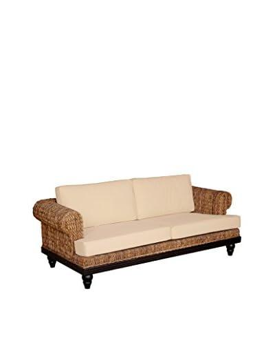 Jeffan Tropical Abaca Small Astor Sofa, Natural